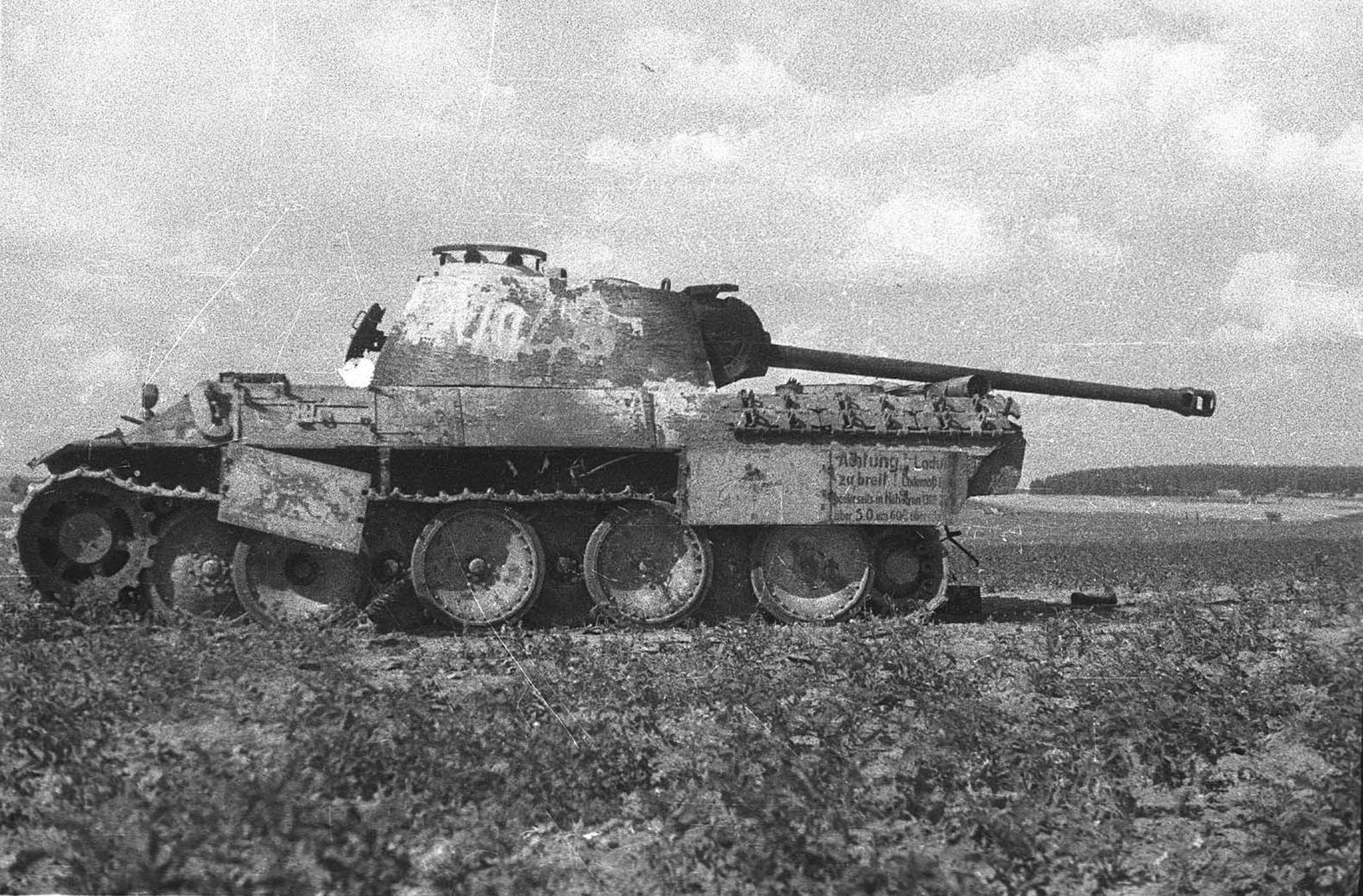 As the Germans crushed tanks 51