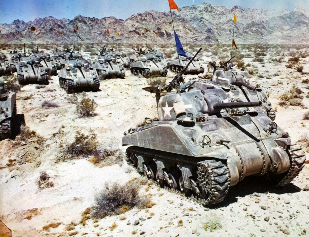 us armor in ww2