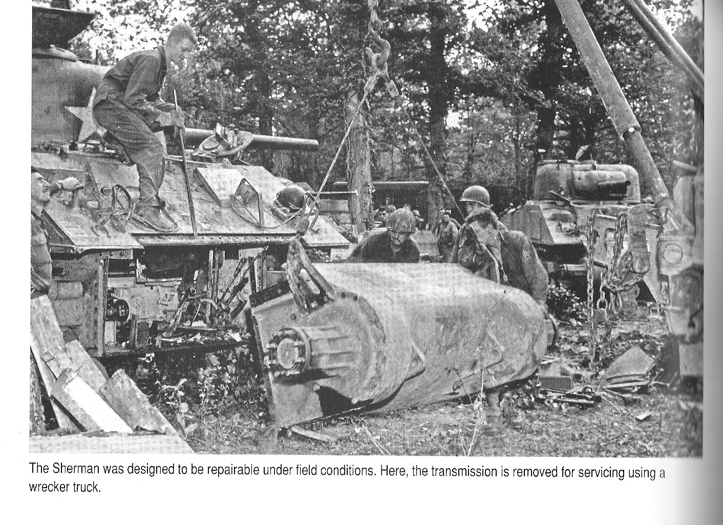 Sherman transmission