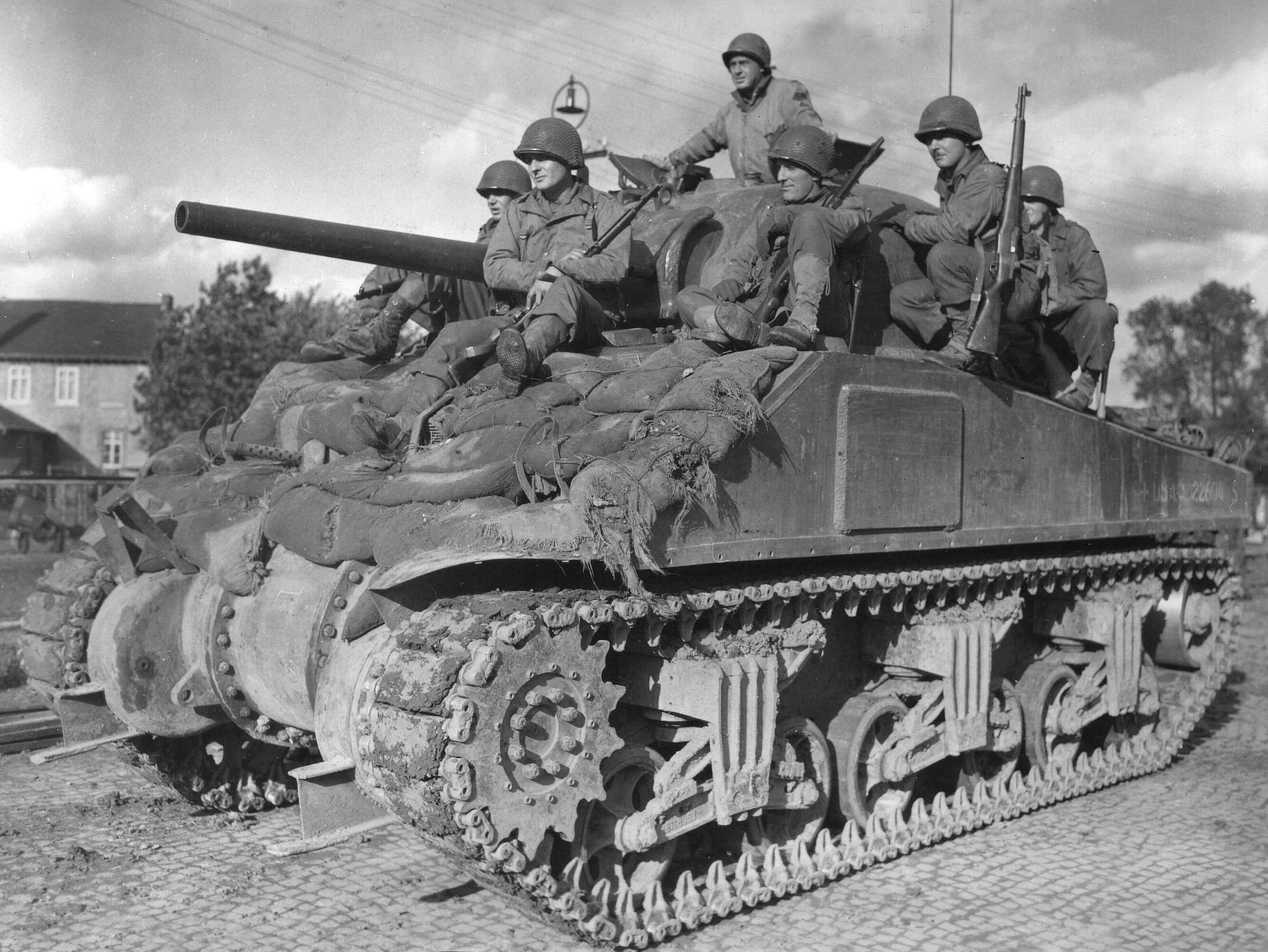 3rd Armored Division, Stolberg, 1944