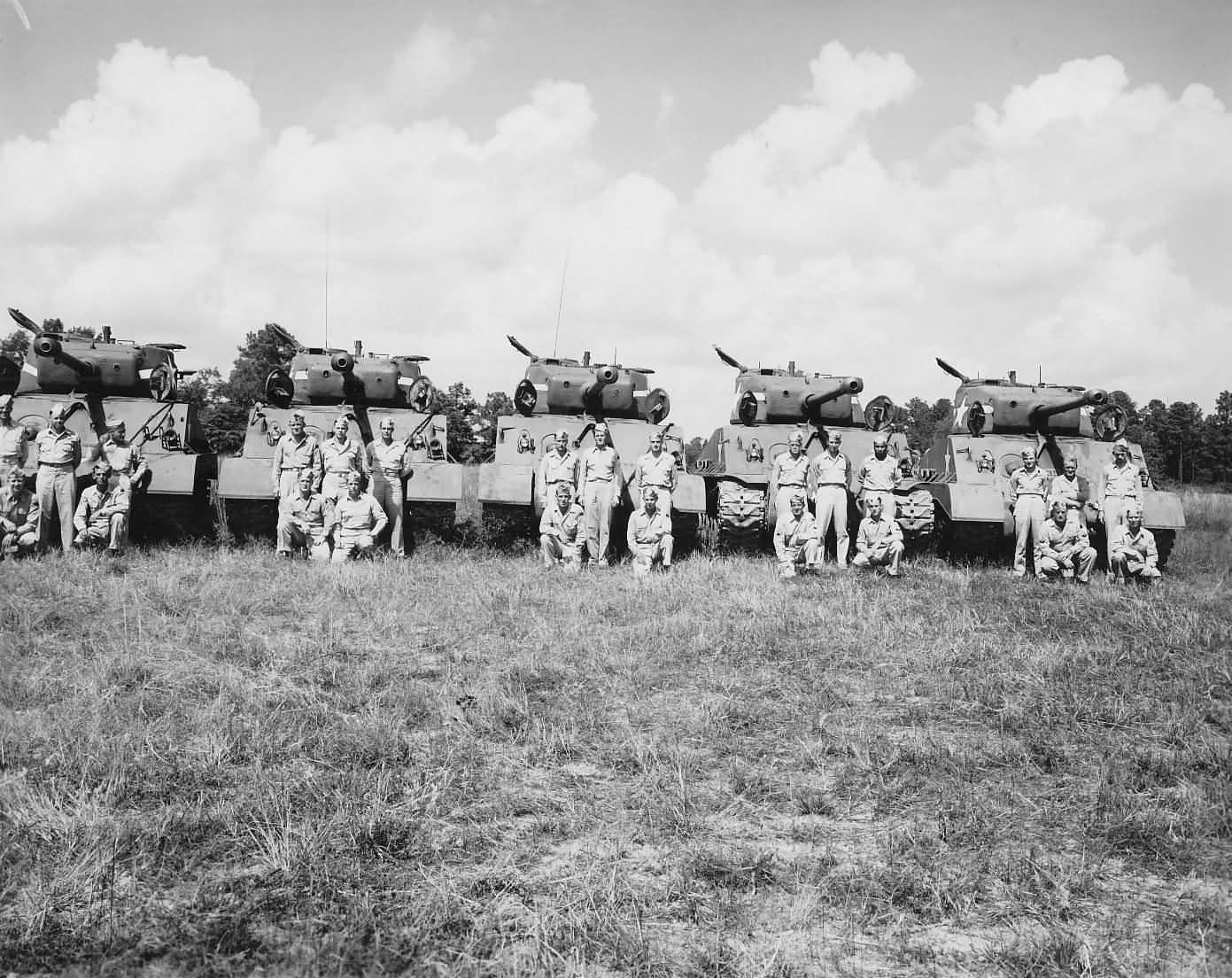 17 The WWII Medium Tank Battalion: The Heart Of An Armored ...
