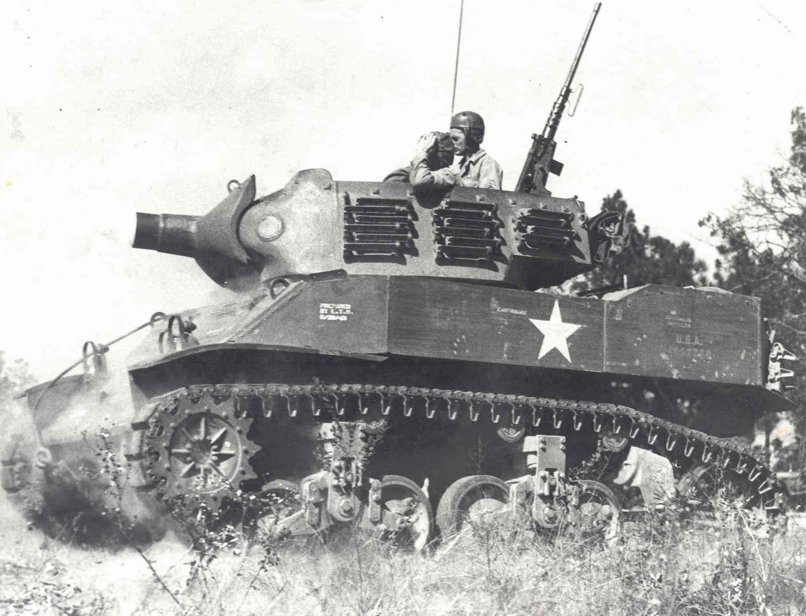 5--M8 HMC training 1943 (Armor)-X3