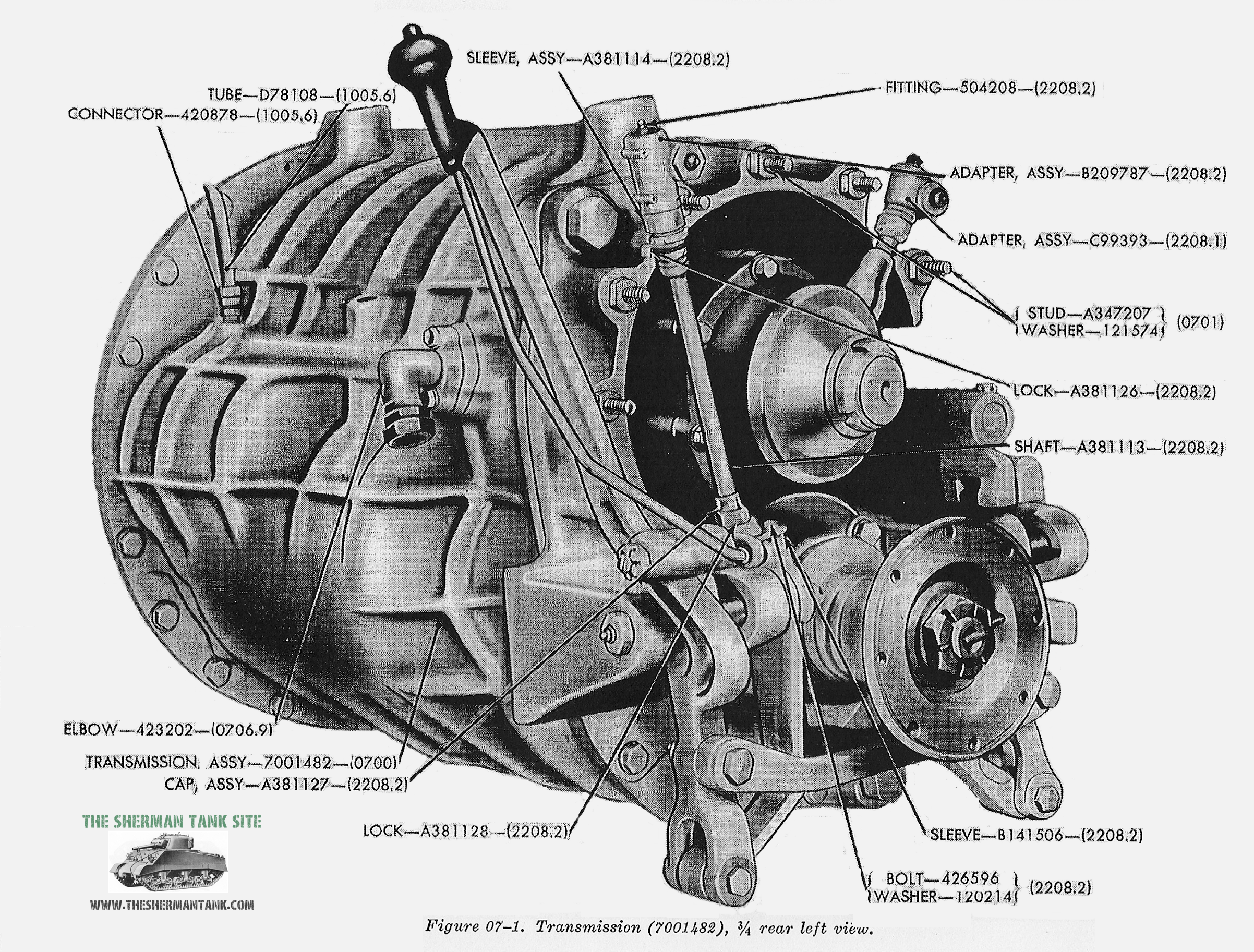 The Sherman Transmission A pretty robust and advanced