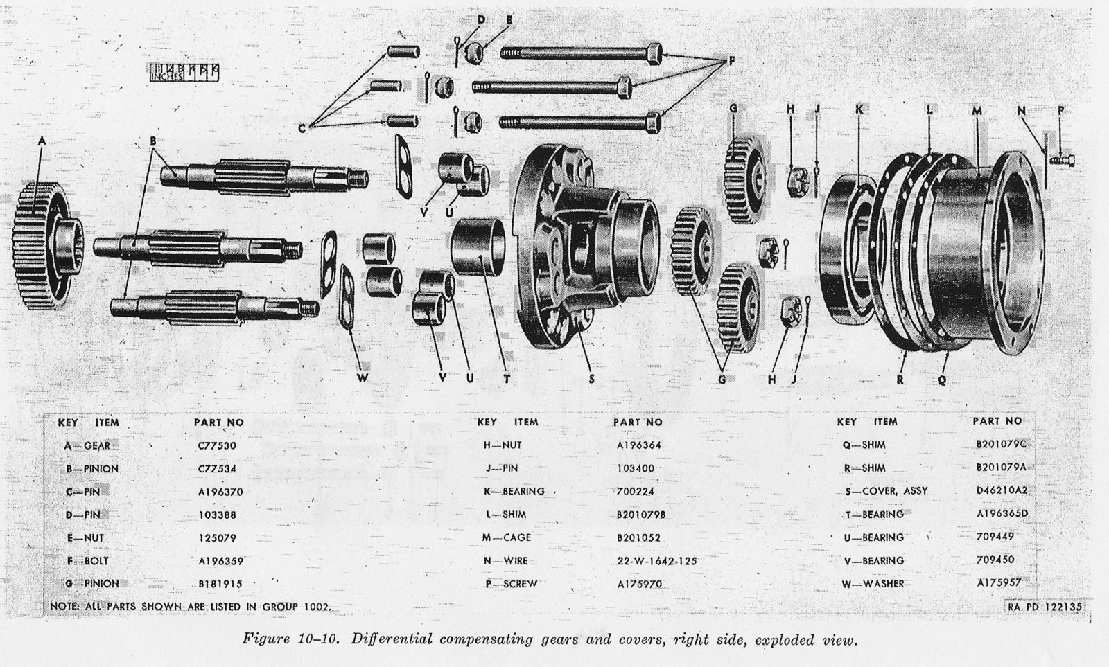 F10-10-differential-compensating-gears-a