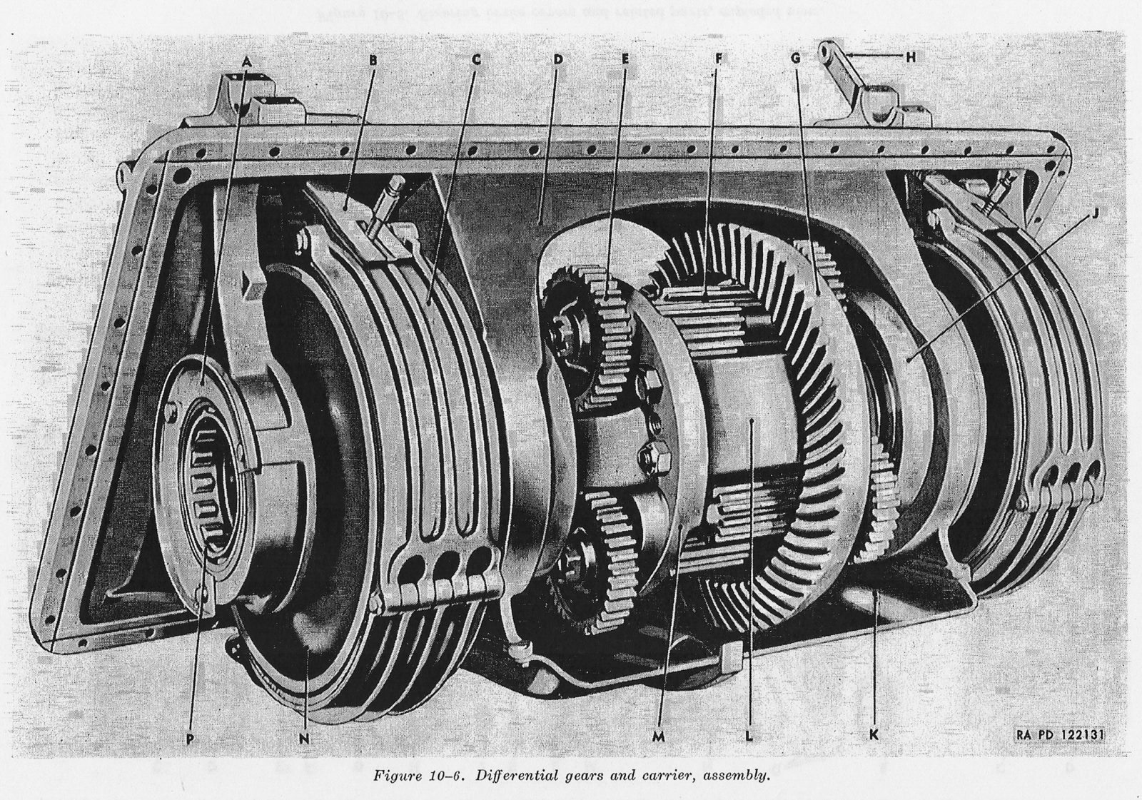F10-6-Differential-gears-and-carrier-ass
