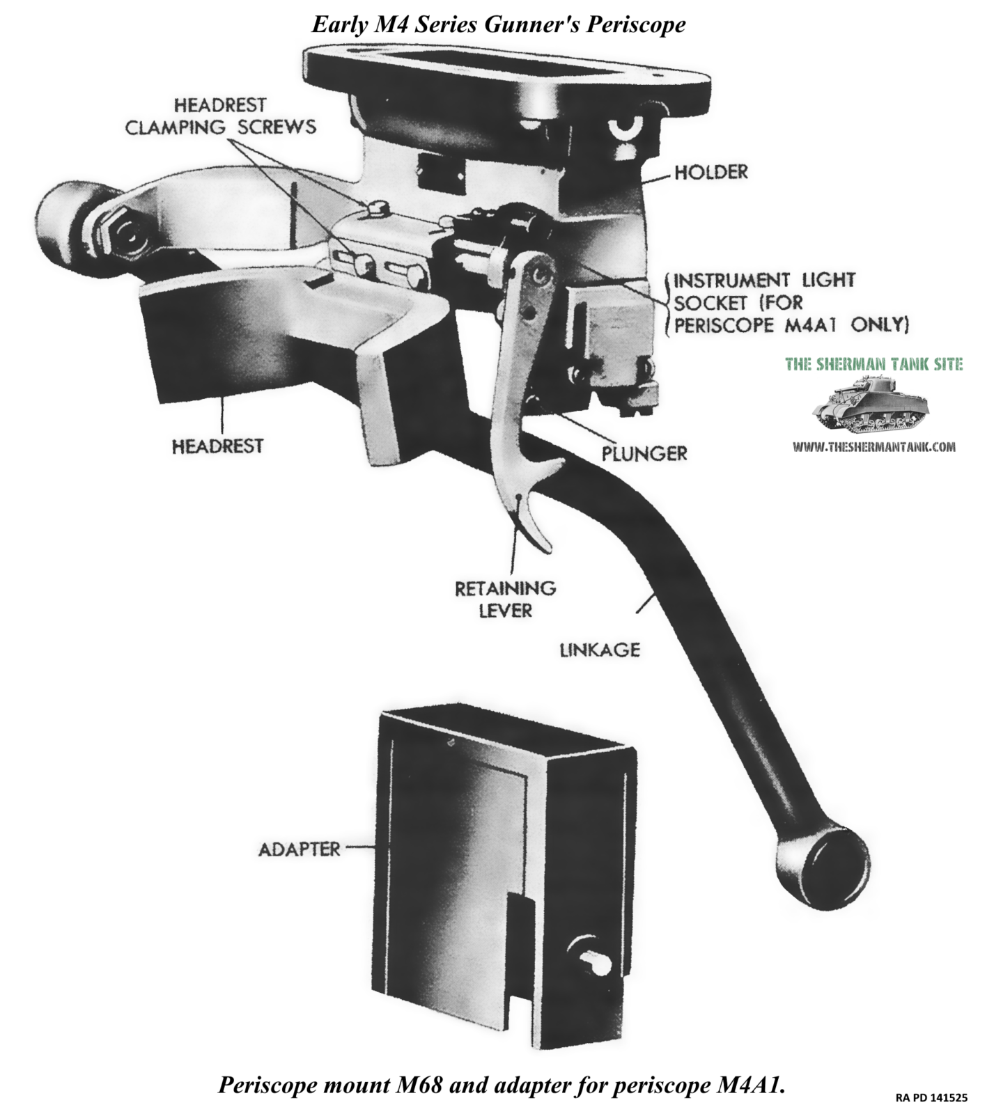 F414-Periscope-mount-M68-and-adapter-M4A