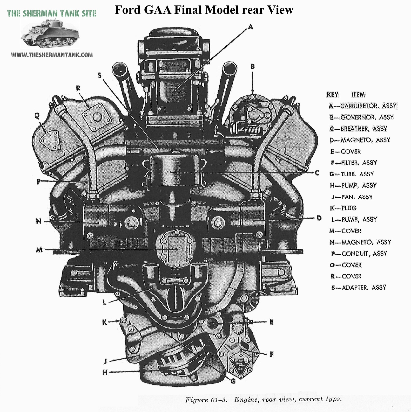 the ford gaa data page more info and technical drawings and manual rh theshermantank com Maybach V12 Engine Maybach SUV