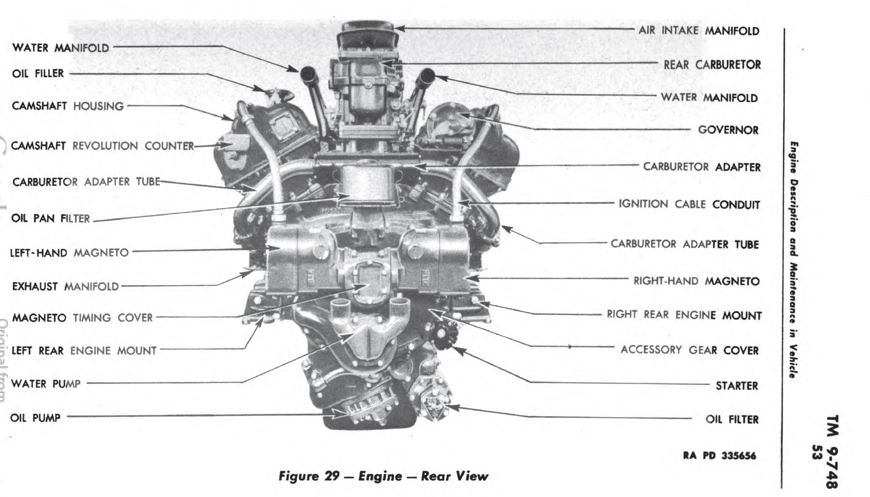 caterpillar 3208 marine engine manual