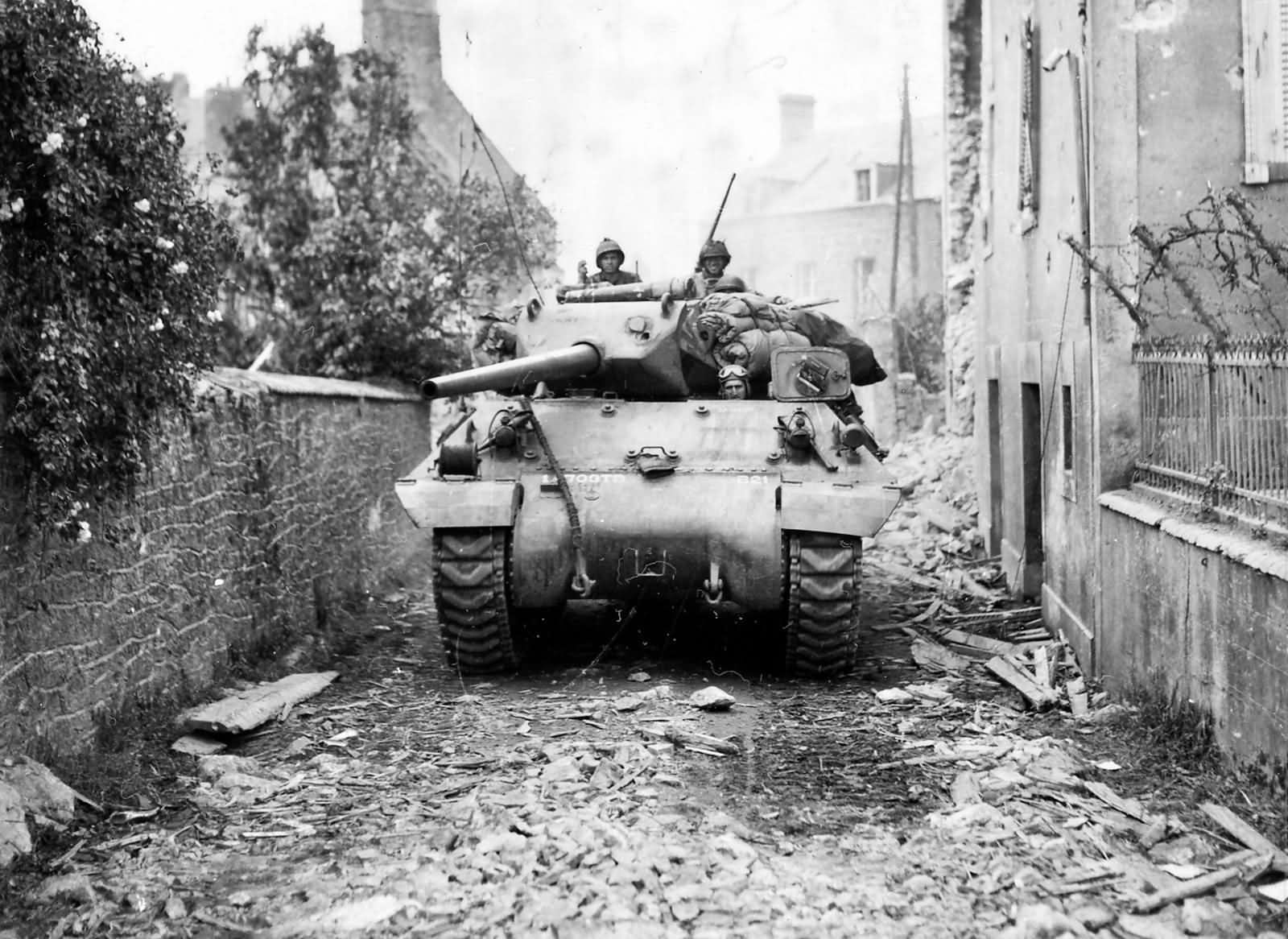 The M10 Gmc The First Good American Td The Sherman Tank