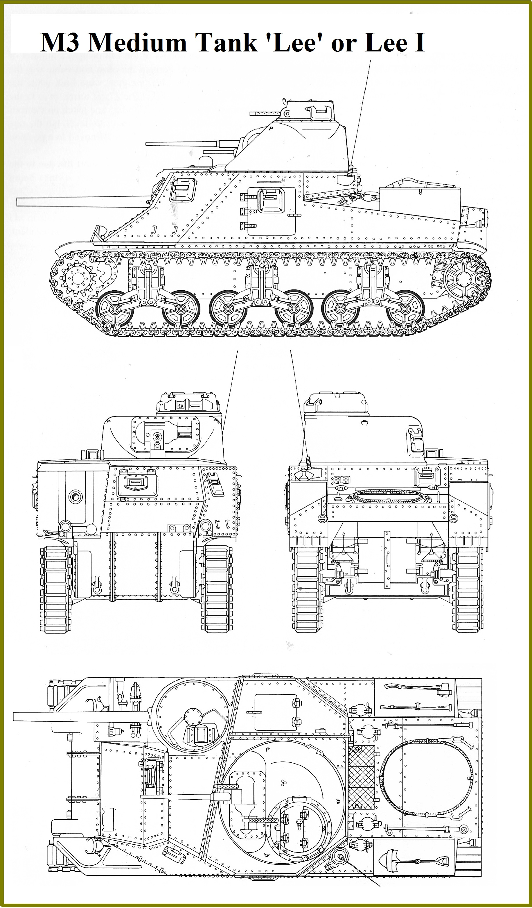 the m3 lee medium tank page all variants one page the grant too
