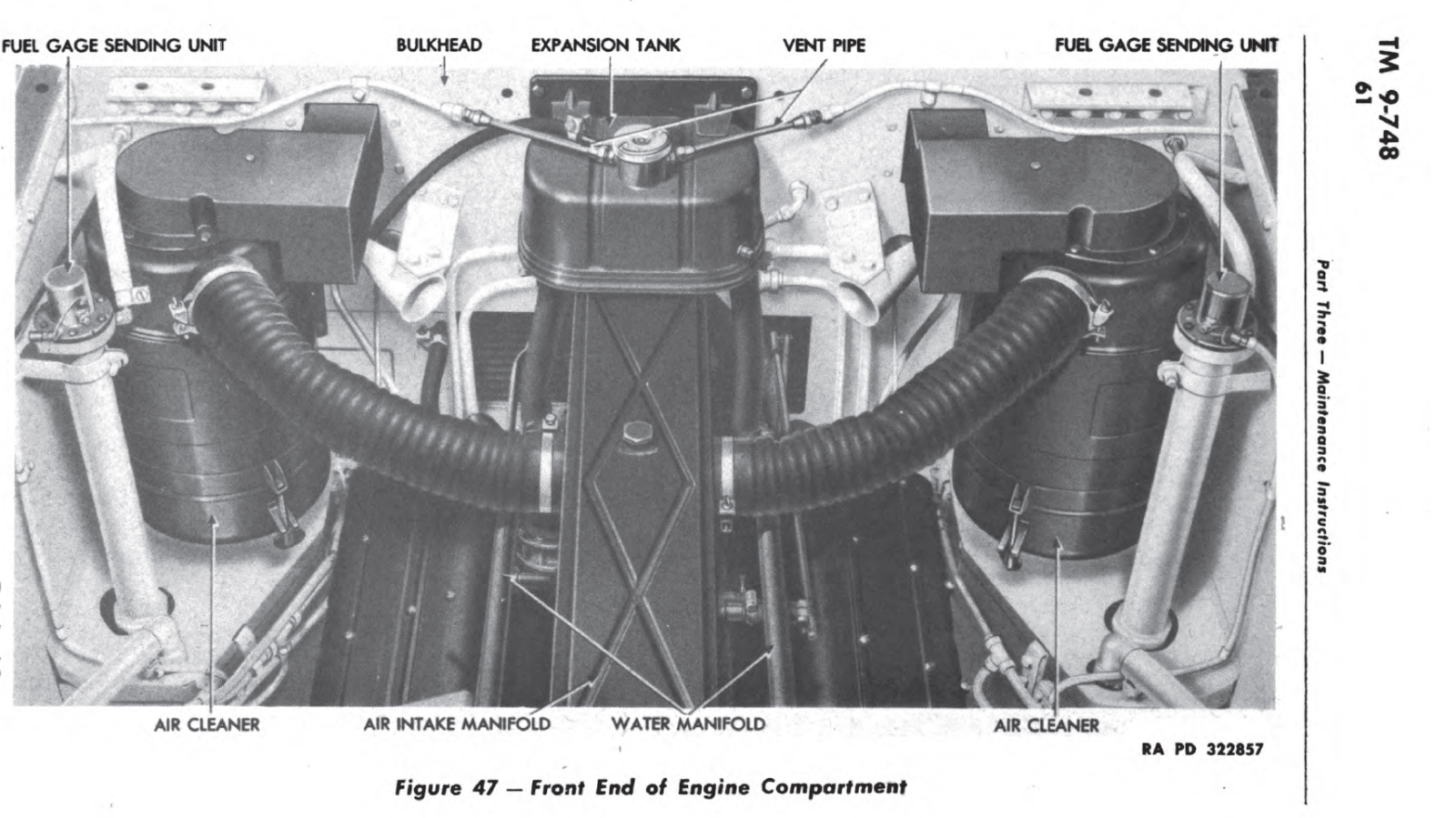 M4A3 firewall diagram engine in place