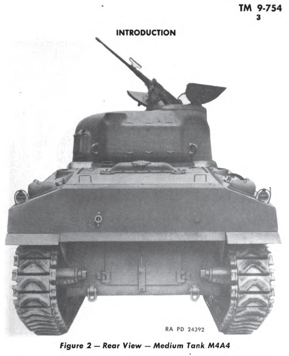 M4A4 rear