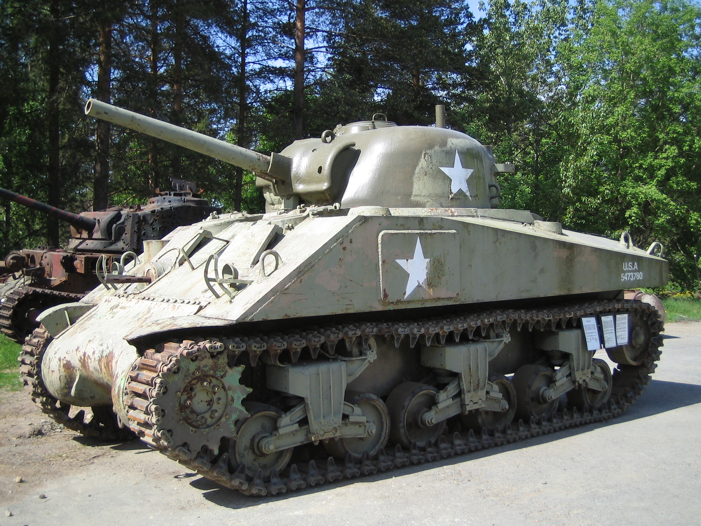 The Sherman M4 Medium Tank: Not the First Type into