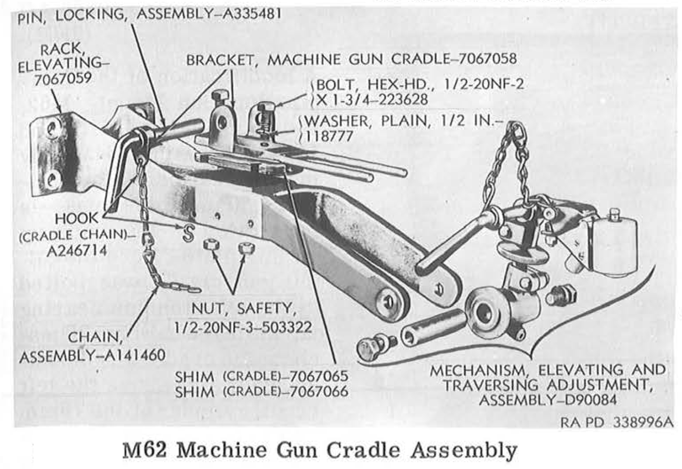 M4 Sherman Tank Small Arms Page: The Machineguns and their mounts