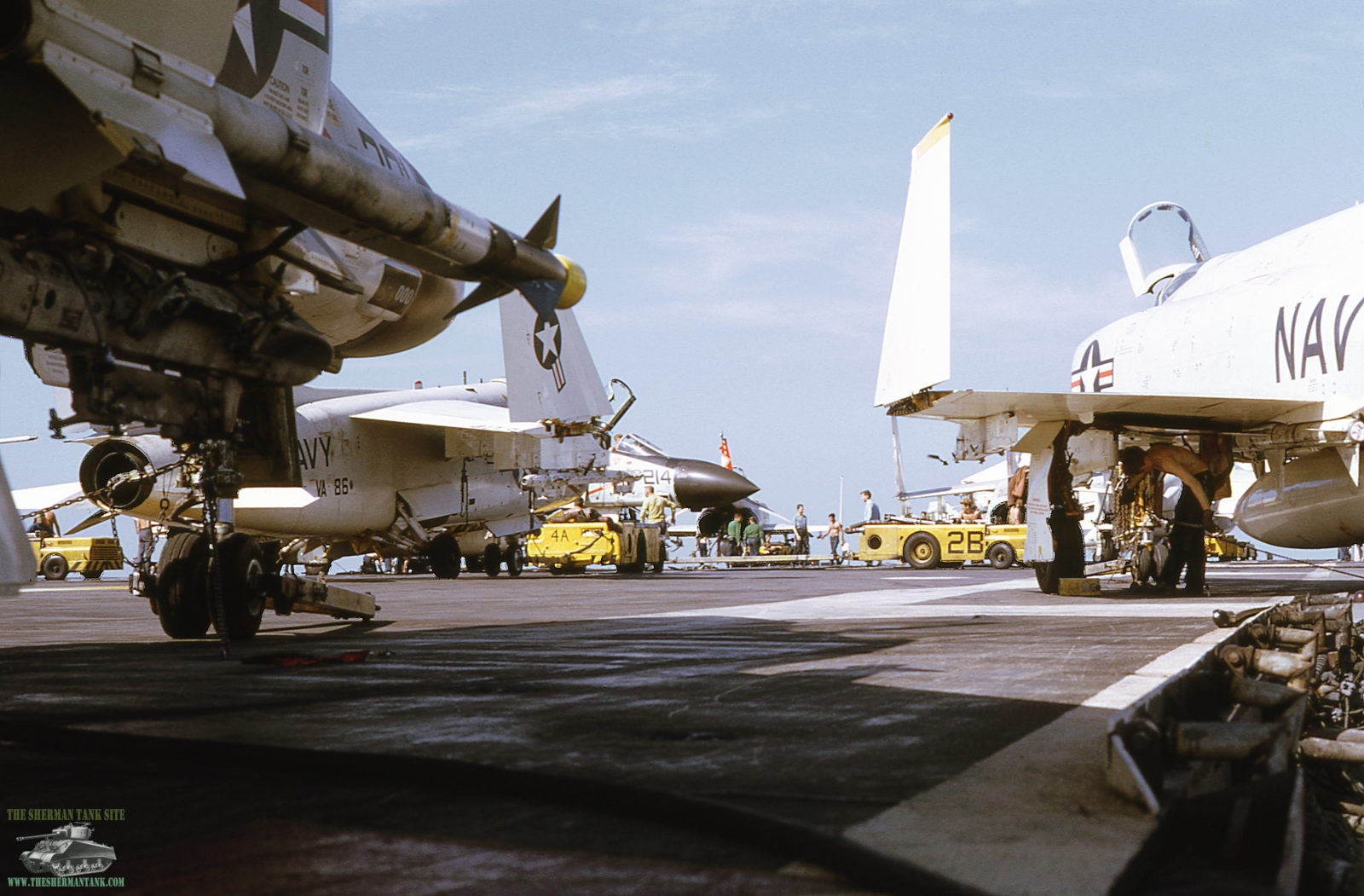 Old-Navy-PicsII097-Flight-deck-USS-Ameri