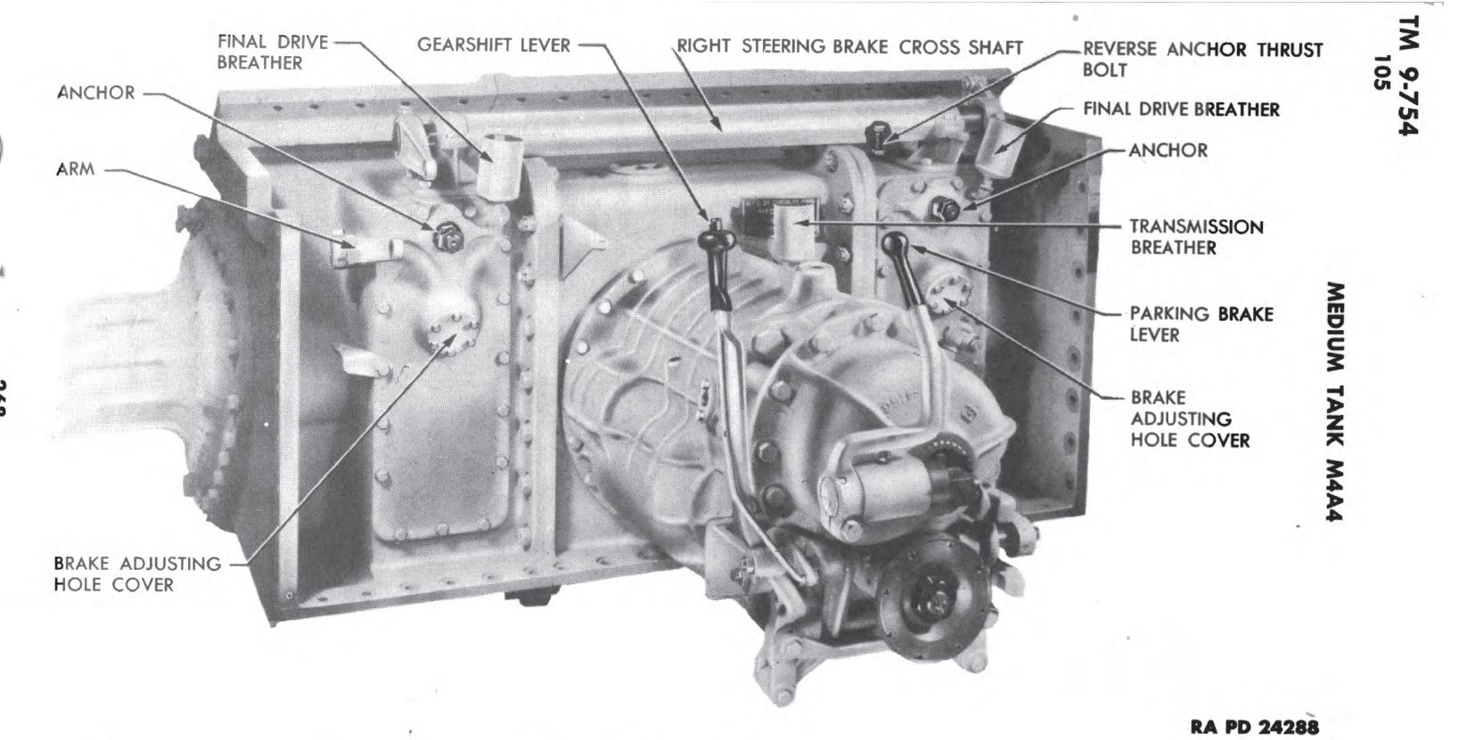Powertrain early, from M4A4