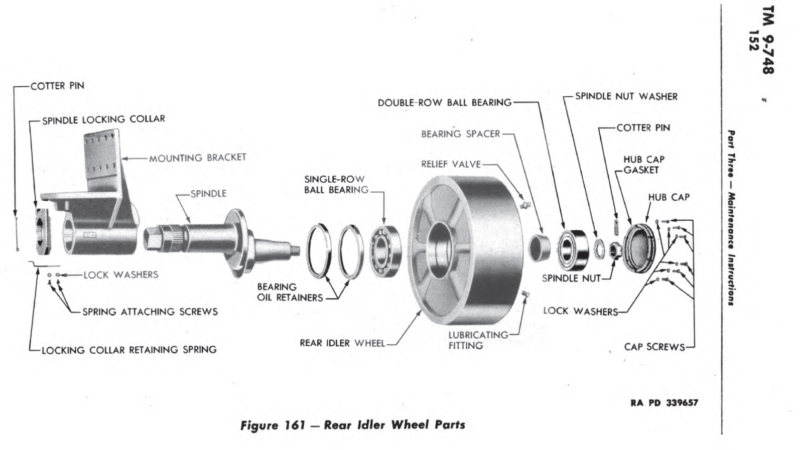 Sherman Idler diagram