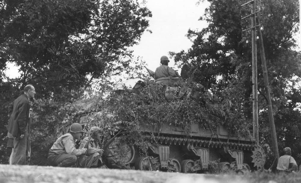 Tank-inf team