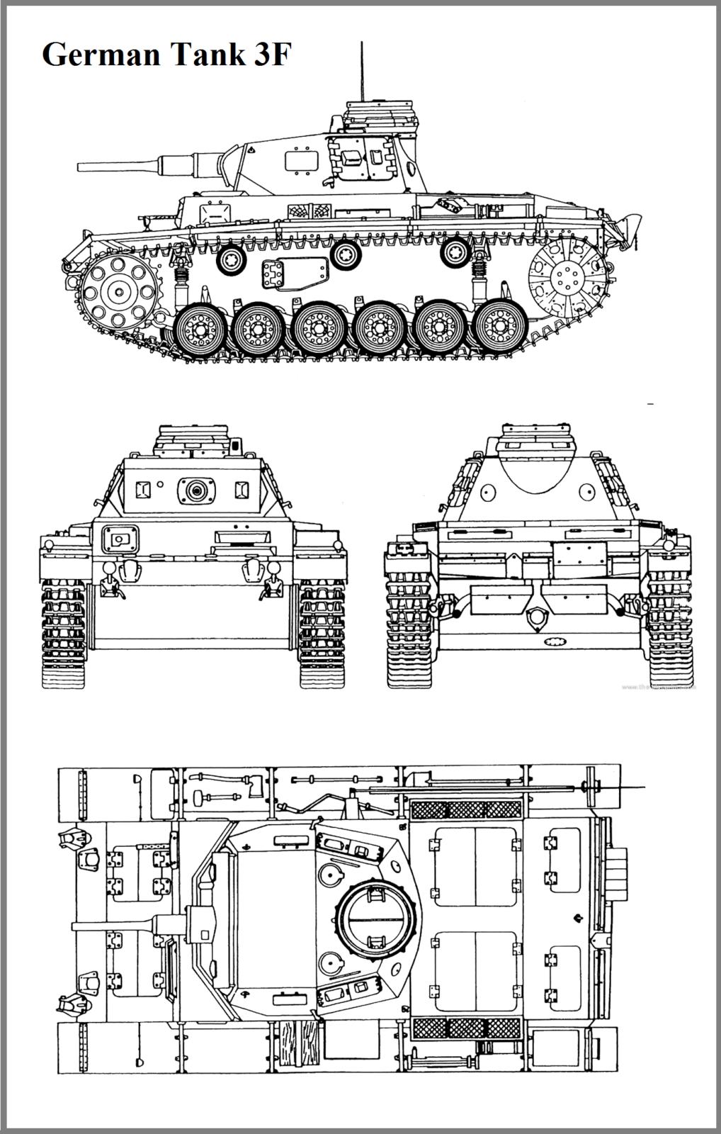 tank drivetrain diagram